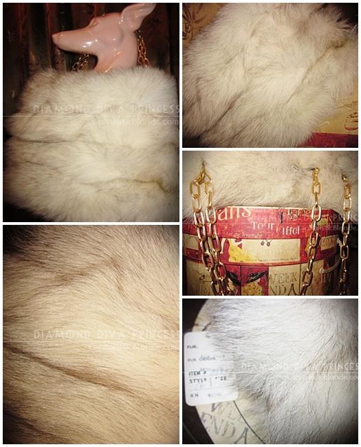 Fur Fashion: My Norwegian Fox Fur Handbag made of Fox Tails