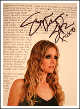 Sheri Moon Zombie autographed GB