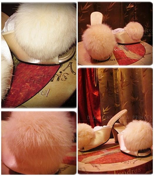Fur Fashion: POMPOM SHOES LUSH PLUSH VENUS in FURS!