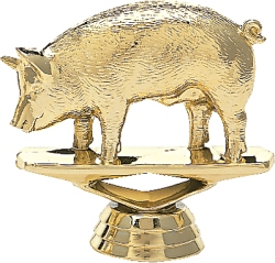 biggest loser trophy pig